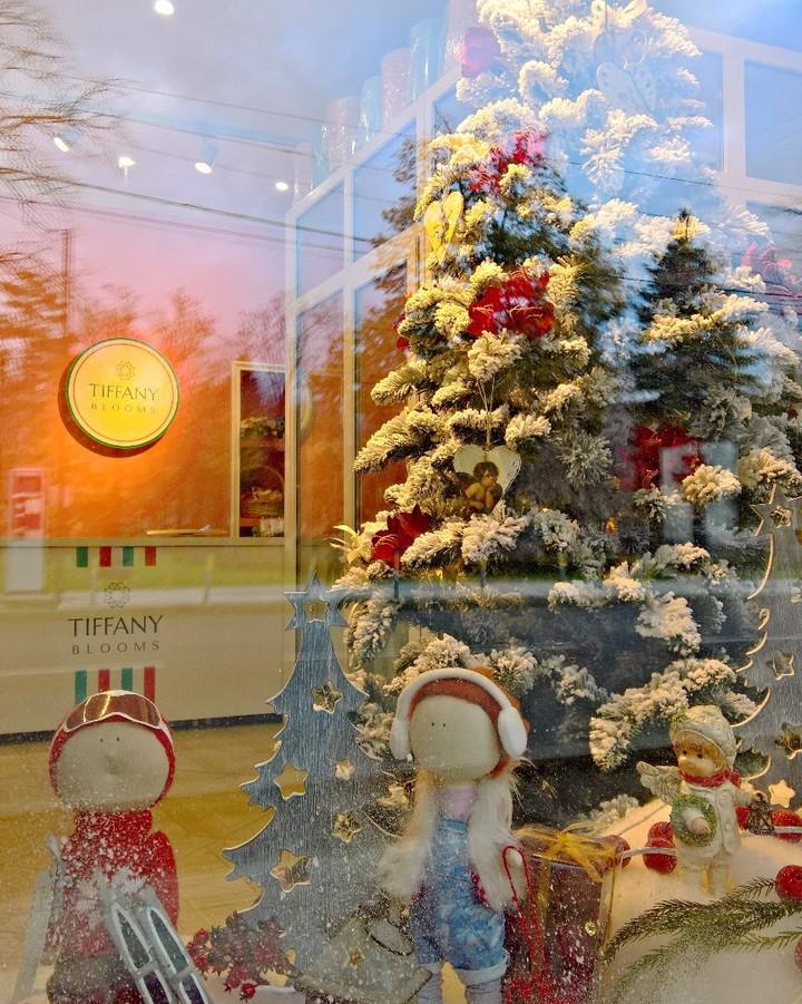 Завтра первый день зимы. Вот так мы имитируем зиму в +10С. Новогоднее настроение уже есть! . Работаем с 8:00 до 20:00 Заказы +79000001133 Рашпилевская 28 tiffanyblooms.ru . #букеткраснодар #букет_от_тиффани #tiffanyblooms #flowers #цветыкрд #доставкацветовкраснодар #доставкабукетовкраснодар #букетвшляпнойкоробке